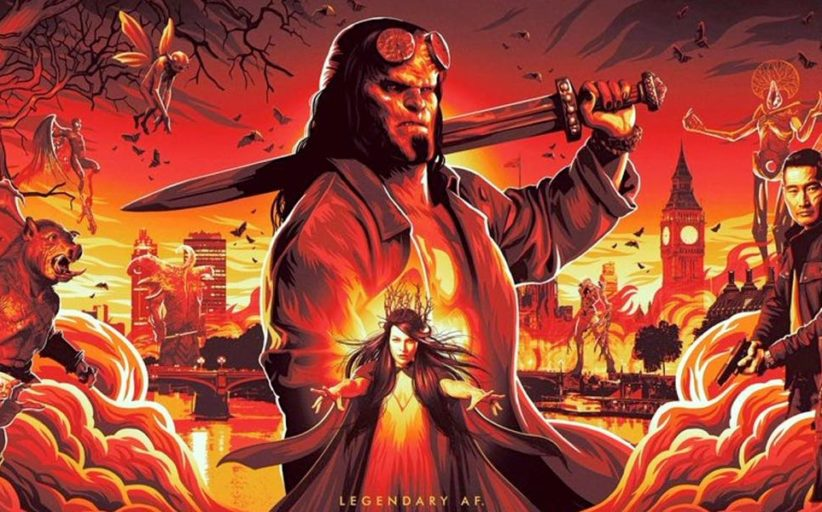 Hellboy (2019): The First Teaser Trailer Looks Terrific