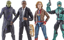 Hasbro announces Captain Marvel Legends action figures