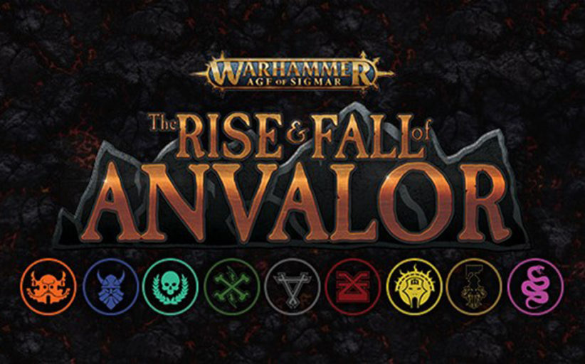 Warhammer: Age of Sigmar: The Rise and Fall of Anvalor coming soon