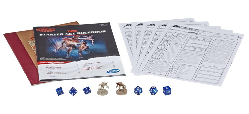 Hasbro to release Stranger Things Dungeon & Dragons Starter Set