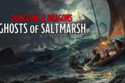 Wizards of the Coast announces Ghosts of Saltmarsh adventure book