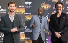 INTERVIEW: Robert Downey, Jr., Chris Hemsworth and Don Cheadle