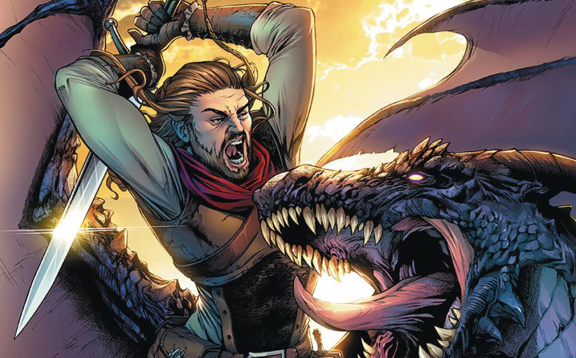 Dragonsblood #1 - Comic review (Zenescope)