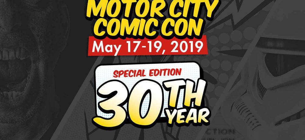 2019 Motor City Comic Con Review