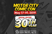 2019 Motor City Comic Con Review