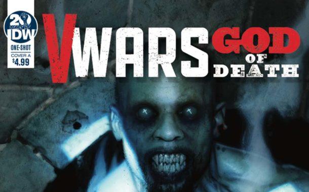 V Wars: God of Death #1 - comic review IDW