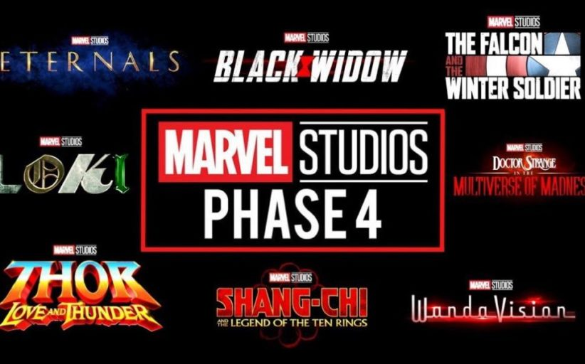 Marvel Phase Four News  Movies and Disney Plus