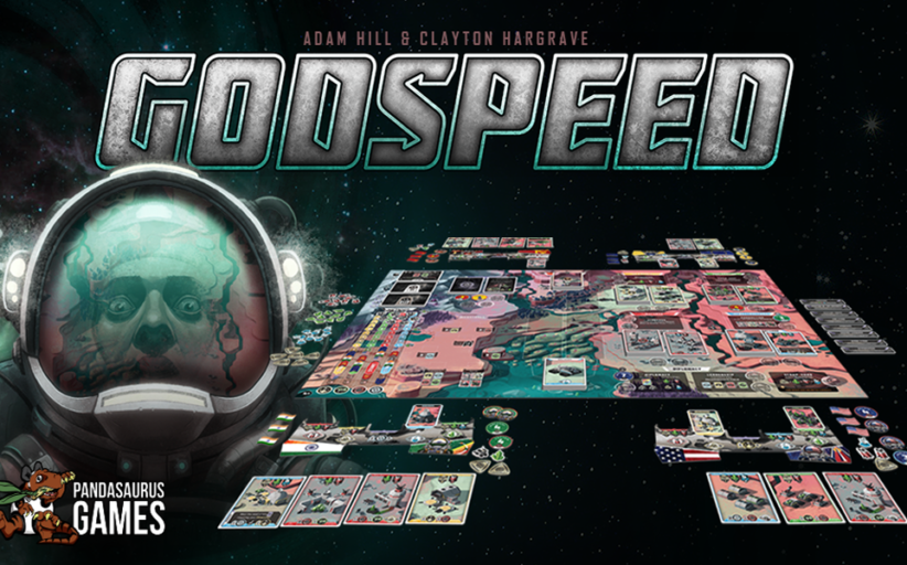 Pandasaurus Games announces Godspeed on Kickstarter