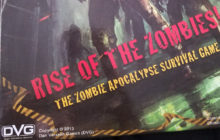 Rise of the Zombies! - Board game review