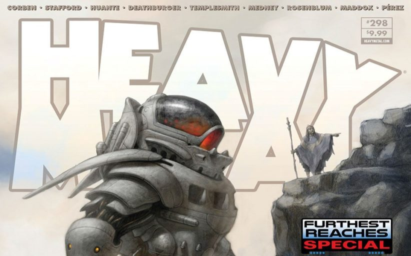 Heavy Metal Magazine #298 - review