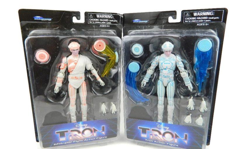Diamond Select Tron Action Figures - review